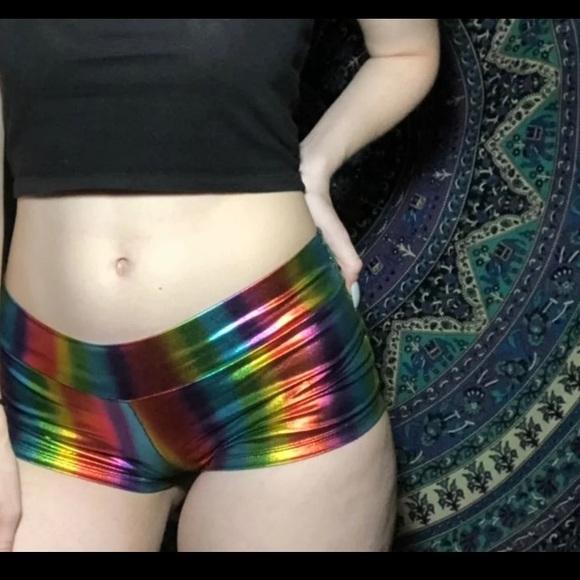 850fe9f7a0 body rage intimates Shorts   Rainbow Booty   Poshmark